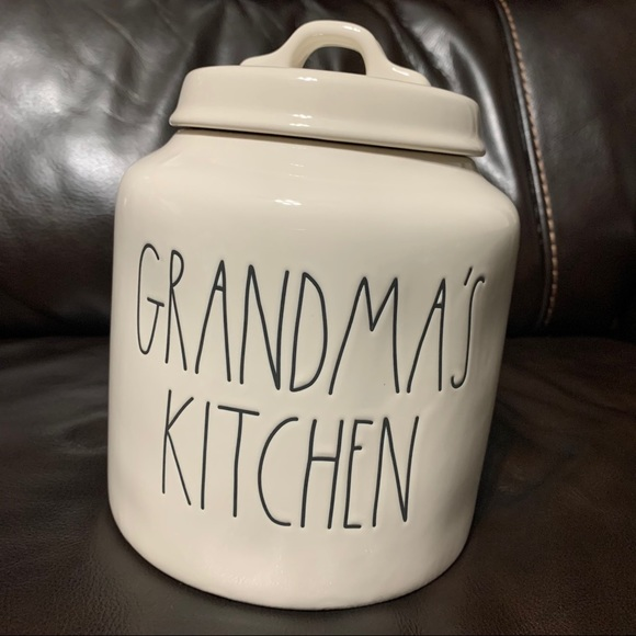 New Rae Dunn by Magenta Grandma's Kitchen Canister